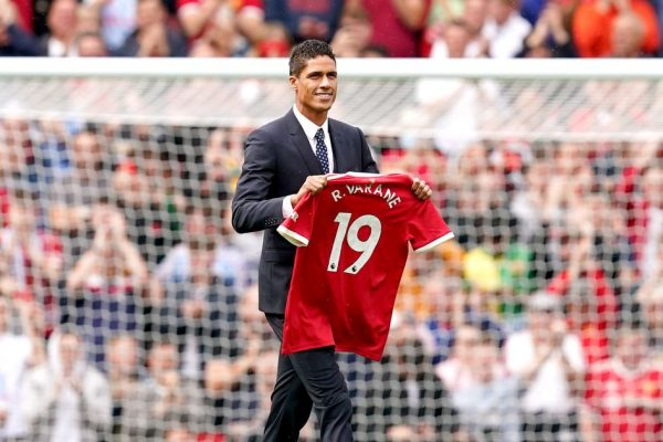 Manchester United have announced the official launch of Rafael Varane. Manchester United have announced the official launch of centre-back Rafael Varane.