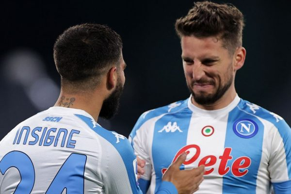 Napoli captain Lorenzo Insigne is a potential target from Chelsea